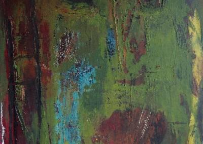 Wer bist du - Oel auf Leinwand, 40 x 30 cm, 2012