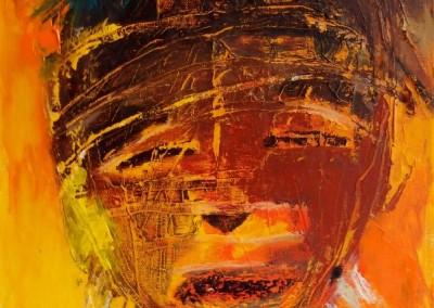 Syria - Oel auf Leinwand, 40 x 30 cm, 2013