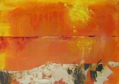 Sommer - Oel auf Leinwand, 30 x 50 cm, 2009