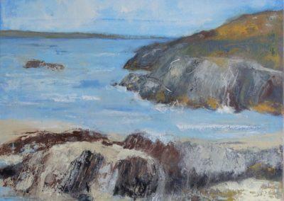Donegal - Oel auf Leinwand, 50 x 60 cm