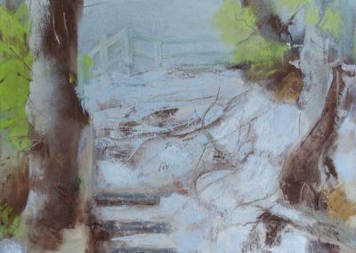 Moen - Oel auf Leinwand, 50 x 60 cm