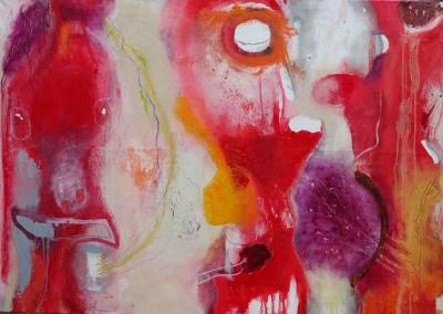 Daemonen - Oel auf Leinwand, 70 x 100 cm - 2015