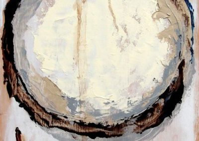 Zweifel - Oel auf Holzmalkoerper, 50 x 30 cm, 2012
